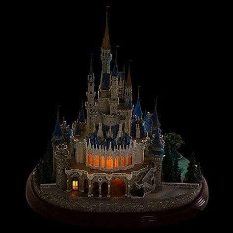 Castelo Cinderela Disney Miniatura Diorama5 - Castelo da Cinderela Disney Diorama Réplica Oficial