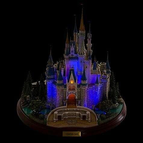 Castelo Cinderela Disney Miniatura Diorama6 - Castelo da Cinderela Disney Diorama Réplica Oficial