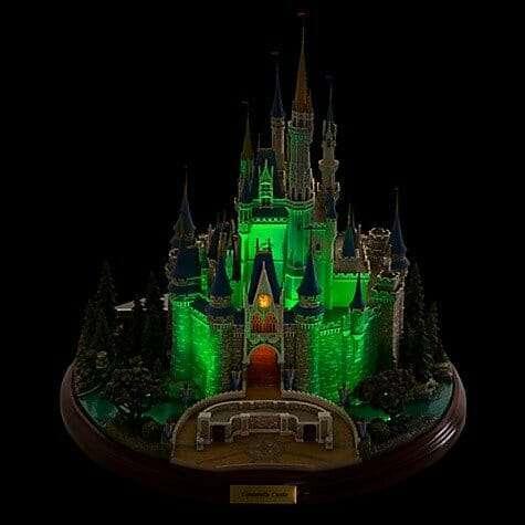 Castelo Cinderela Disney Miniatura Diorama7 - Castelo da Cinderela Disney Diorama Réplica Oficial