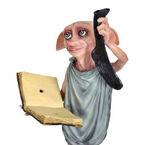 Dobby Estatua Segurando Diario e Meia Replica Oficial3 510x510 - Dobby Estátua Segurando Diário e Meia Réplica Oficial
