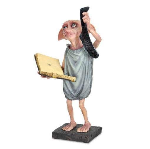 Dobby Estatua Segurando Diario e Meia Replica Oficial7 510x509 - Dobby Estátua Segurando Diário e Meia Réplica Oficial