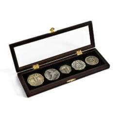 E1032027 1 247x247 - 5 moedas Hobbit Tesouro de Smaug Réplica Oficial