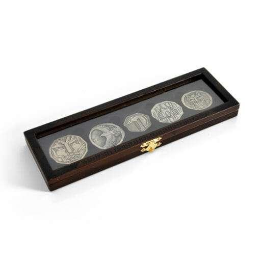 E1032027 2 510x510 - 5 moedas Hobbit Tesouro de Smaug Réplica Oficial