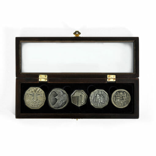 E1032027 3 510x510 - 5 moedas Hobbit Tesouro de Smaug Réplica Oficial