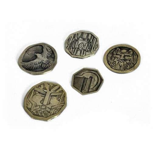 E1032027 4 510x510 - 5 moedas Hobbit Tesouro de Smaug Réplica Oficial