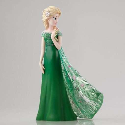 Elsa disney showcase enesco vestido verde4 510x510 - Elsa Frozen Vestido de Primavera Disney Enesco
