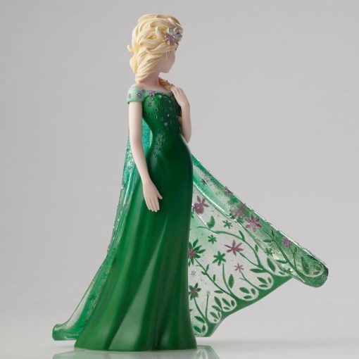 Elsa disney showcase enesco vestido verde5 510x510 - Elsa Frozen Vestido de Primavera Disney Enesco
