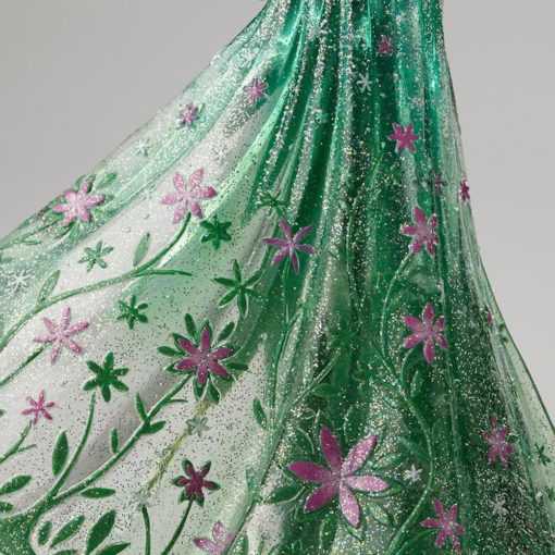 Elsa disney showcase enesco vestido verde6 510x510 - Elsa Frozen Vestido de Primavera Disney Enesco