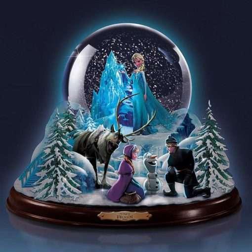 Frozen Globo de Neve edicao limitada2 510x510 - Globo de Neve Musical Disney Frozen Uma Aventura Congelante