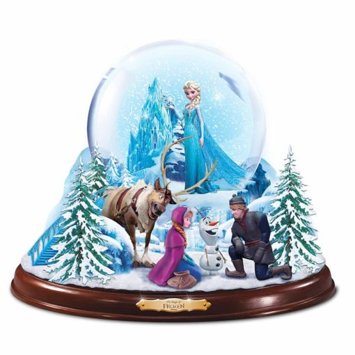 Frozen Globo de Neve edicao limitada4 510x510 - Globo de Neve Musical Disney Frozen Uma Aventura Congelante