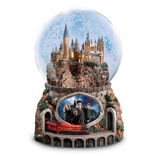 Glogo de Neve Harry Potter trem 510x510 - Globo de Neve Castelo Hogwarts Musical