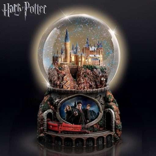 Glogo de Neve Harry Potter trem3 510x510 - Globo de Neve Castelo Hogwarts Musical