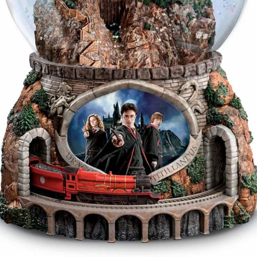 Glogo de Neve Harry Potter trem4 510x510 - Globo de Neve Castelo Hogwarts Musical
