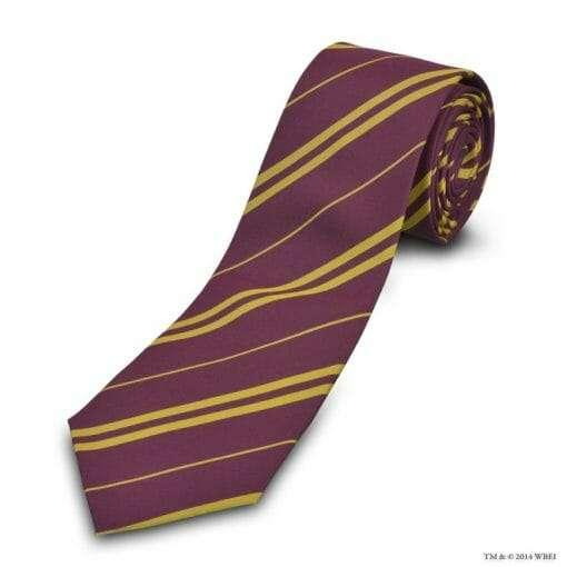 Gravata Grifinória Oficial Harry Potter