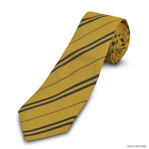Gravata ofical hogwarts Lufa Lufa 510x510 - Gravata Lufa-Lufa Oficial Harry Potter