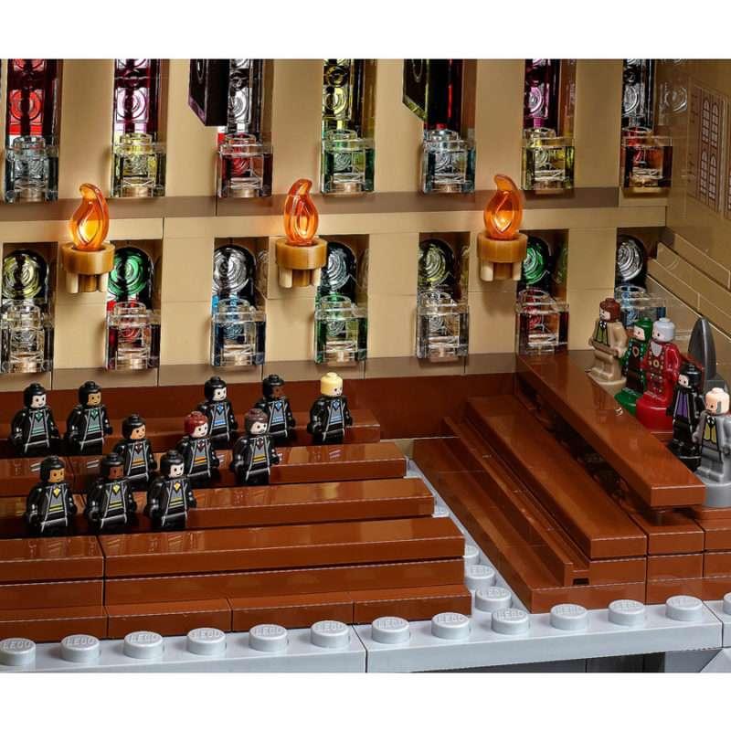 HARRY POTTER LEGO 71043 CASTELO DE HOGWARTS 17 800x800 - Lego lança Castelo de Hogwarts Harry Potter com mais de 6 mil peças.