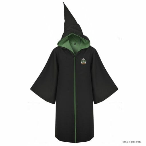Hobe ofical hogwarts Sonserina2 510x510 - Robe Oficial Sonserina Harry Potter Infantil