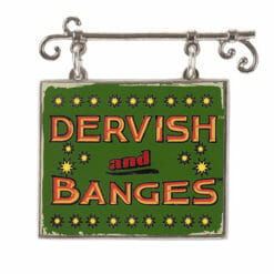 Pin Placa Dervish And Banges Oficial Harry Potter