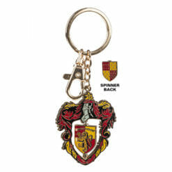 L Gryffindor Crest Spinning Keychain 1230886 247x247 - Chaveiro Grifinória Spinning Oficial Harry Potter