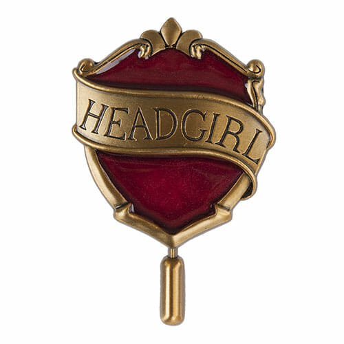 Pin Head Girl Grifinória Oficial Harry Potter