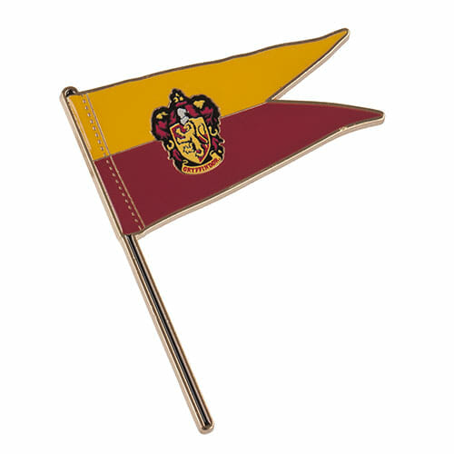 L Gryffindor Pennant Pin 1267059 - Pin Bandeira Grifinória Oficial Harry Potter