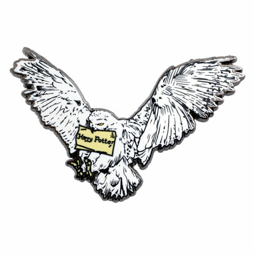 L Hedwig Pin 1230803 - Pin Coruja Edwiges Harry Potter Oficial