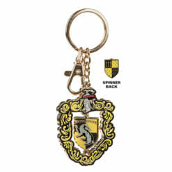 L Hufflepuff Crest Spinning Keychain 1230703 247x247 - Chaveiro Lufa-Lufa Spinning Oficial Harry Potter