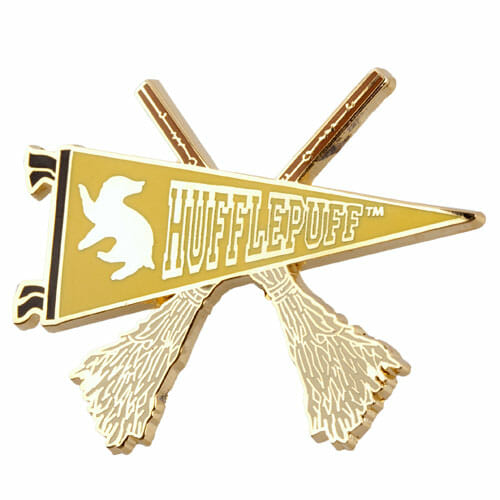 Pin Lufa-Lufa Quadribol Oficial Harry Potter