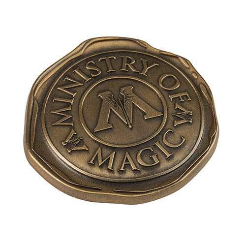 L Ministry Of Magic Seal Pin 1242679 - Pin Selo Ministério da Magia Oficial Harry Potter