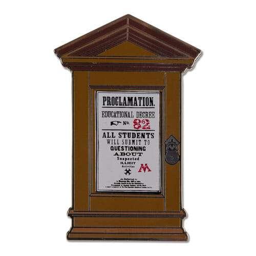 L Proclamation 82 Pin 1230709 - Pin Proclamação 98 de Umbrige Oficial Harry Potter