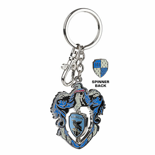 L Ravenclaw Crest Spinning Keychain 1230713 - Chaveiro Corvinal Spinning Oficial Harry Potter