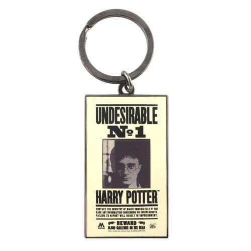 Chaveiro Harry Potter Placa Indesejado Efeito 3D