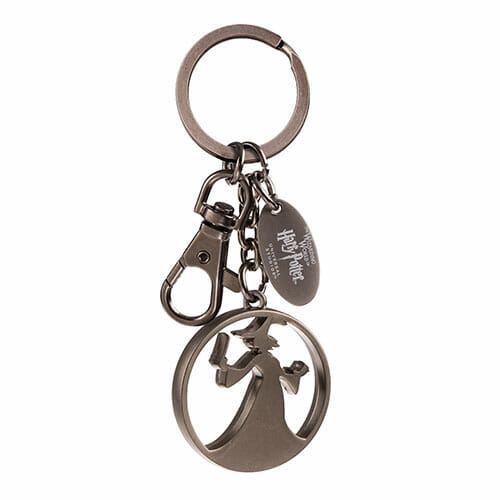 L Witch Silhouette Keychain 1265925 - Chaveiro Silhueta de Bruxa Oficial Harry Potter