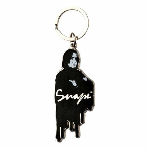 L PROFESSORTEACHER Souvenirs KeyChains HarryPotter Souvenirs SnapeMetalKeychain 1230856 - Chaveiro Severo Snape Oficial Harry Potter