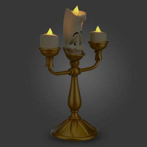 Lumiere QUE ACENDE DISNEY 510x510 - Luminária Lumiere de Bela e a Fera Disney