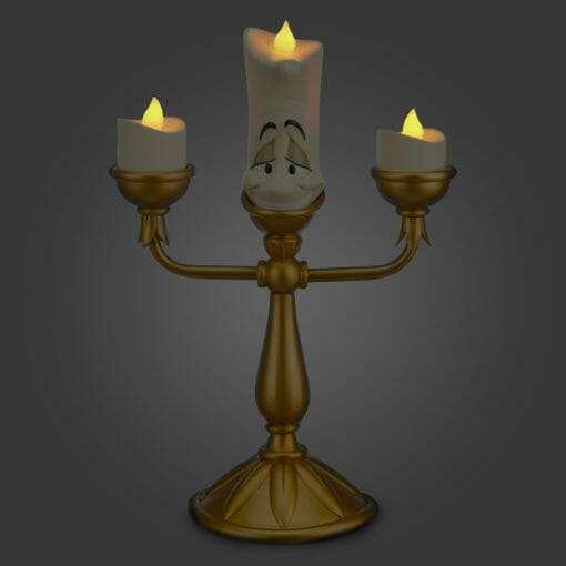 Lumiere QUE ACENDE DISNEY2 510x510 - Luminária Lumiere de Bela e a Fera Disney