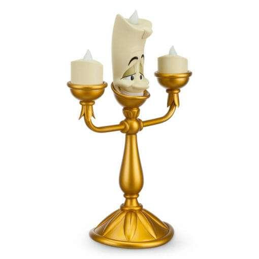 Lumiere QUE ACENDE DISNEY4 510x510 - Luminária Lumiere de Bela e a Fera Disney