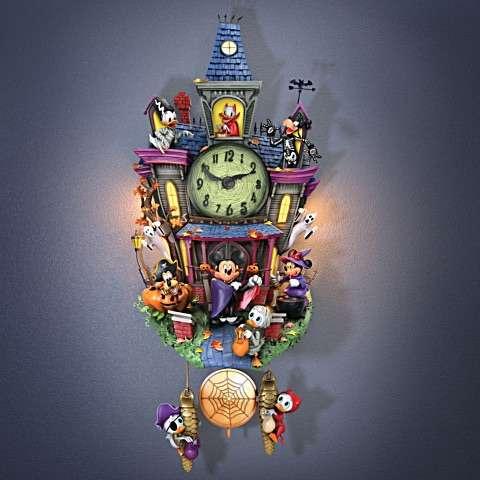 MICKEY HALLOWEEN - Relógio Cuco Disney Festa de Halloween Mickey