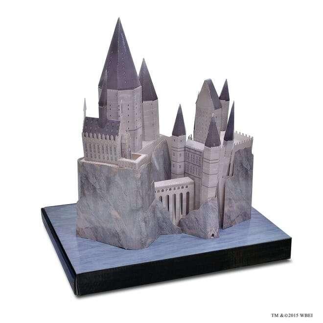 Maquete 3d Do Castelo De Hogwarts Universal Studios Com Leds