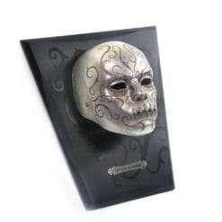 Máscara Comensal da Morte Belatriz com expositor