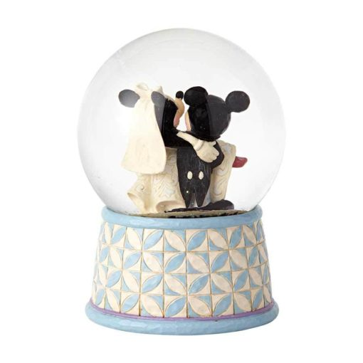 Mickey e Minnie Casamento Jim Shore Disney 510x510 - Globo de Neve Casamento Mickey e Minnie Disney Jim Shore