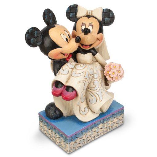 Casamento de Mickey e Minnie Disney Traditions Jim Shore