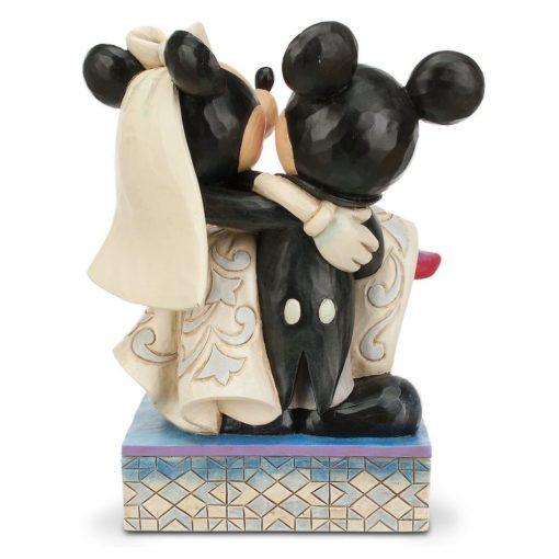 Mickey e Minnie Casamento Jim Shore Disney Congratulatios5 510x510 - Casamento de Mickey e Minnie Disney Traditions Jim Shore