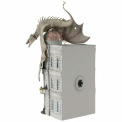 Banco de Gringotes Miniatura Oficial Harry Potter