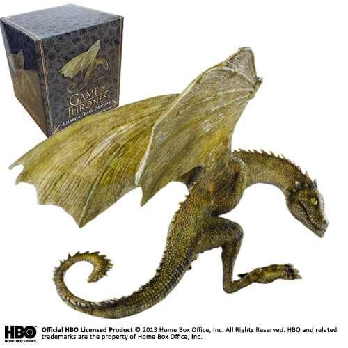 NN0073 b - Dragão Rhaegal Baby Game of Thrones