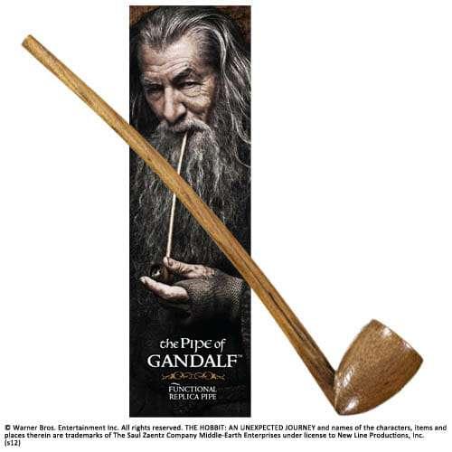 NN1233 - Cachimbo de Gangalf Hobbit Réplica Oficial