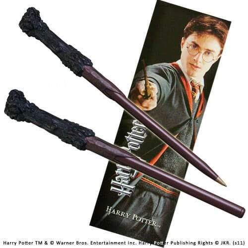 NN8636 - Caneta Varinha Harry Potter Oficial