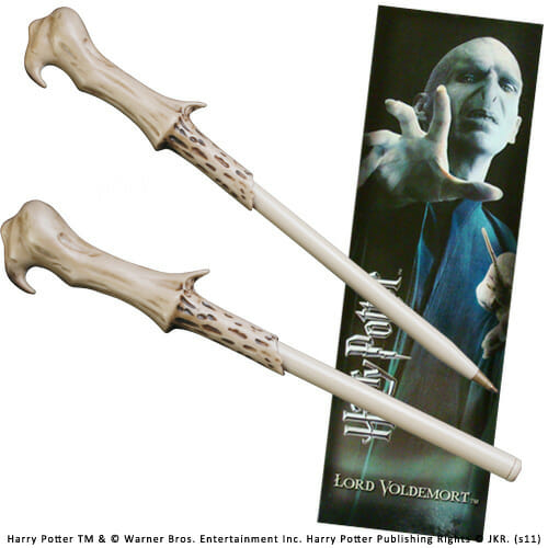 NN8638 - Caneta Varinha Voldemort Oficial