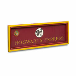 PLACA HOGWARTS EXPRESS NOBLE COLLECTION 2 247x247 - Placa Expresso de Hogwarts Plataforma 9 3/4
