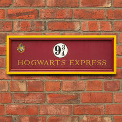 PLACA HOGWARTS EXPRESS NOBLE COLLECTION 247x247 - Placa Expresso de Hogwarts Plataforma 9 3/4